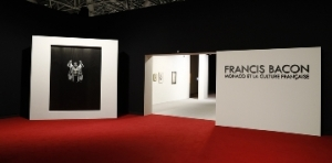 "FRANCIS BACON MONACO AND FRENCH CULTURE JULY 02ND 2016 PRESS RELEASE ARTIST INFO ""Francis Bacon, Monaco and French Culture,"" Installation view at the Grimaldi Forum, Monaco. © The Estate of Francis Bacon. All rights reserved. Photo by JC Vinaj/Grimaldi Forum,"