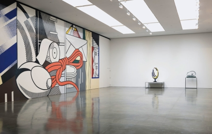 "GAGOSIAN GALLERY CHELSEA September 10 - October 17, 2015 ""ROY LICHTENSTEIN: Greene Street Mural"" Installation view Photo by Rob McKeever"