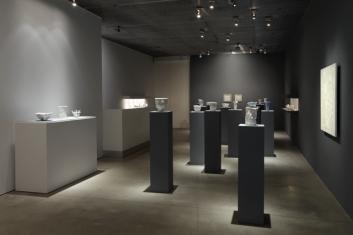 WHITE MAGIC: ROBERT RYMAN and RUDOLF STAFFEL Installation View David Nolan Gallery, New York 2014