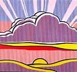 Roy Lichtenstein Sinking Sun