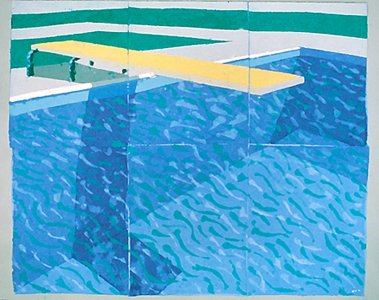 12 78g02 leslie rankow fine arts How to make swimming pool with paper