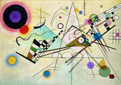 Wassily Kandinsky Composition 8, July 1923 Solomon R. Guggenheim Museum, New York