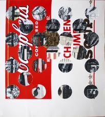Ray Johnson Untitled (Campbell's Soup with Cut-out Circles) 1973-1988