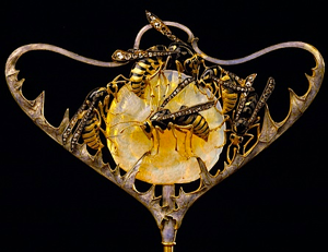 Rene Jules Lalique Wasp stickpin