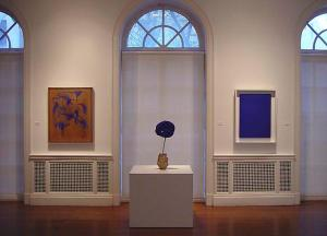 C & M Gallery Yves Klein exhibition