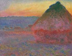 Claude Monet (1840-1926) Meule signed and dated 'Claude Monet 91' (lower left) oil on canvas 28 5/8 x 36 ¼ in. (72.7 x 92.1 cm.) Painted in 1891