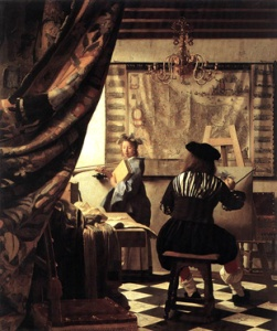 Vermeer: The Allegory of Painting (1665-70)
