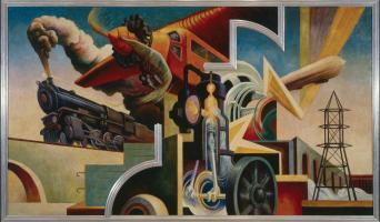 Thomas Hart Benton America Today Metropolitan Museum of Art