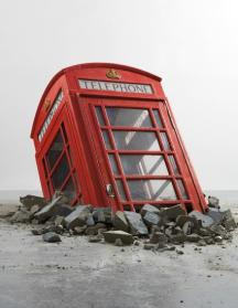 BANKSY Submerged Phone Booth 2006 Phillips London Evening Sale October 2014