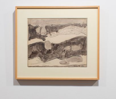 EDWARD DUGMORE Untitled, 1964 Watercolor and pencil on paper 14 x 16 3/4 inches