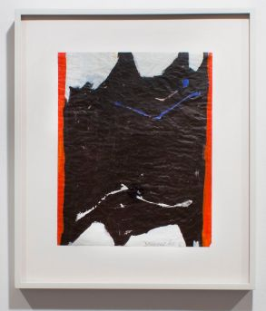 EDWARD DUGMORE Untitled #12, 1968 Acrylic on paper 15 3/4 x 12 1/2 inches